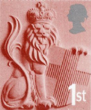1st Class 'England' Themed Stamp